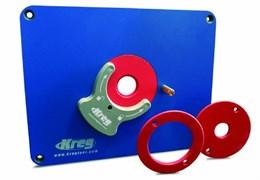 Пластина с креплениями для фрезера + 3 кольца Kreg