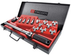 Комплект динамометрический ключей 20-100Нм (С+С модули) Facom