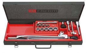 Комплект ключей с головками модульный Facom