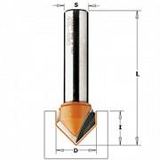 Фреза V-образные по гипсокартону 90° S-8мм СМТ