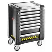 Инструментальная тележка Jet+ c 8 ящиками (3 модуля в ящике) с системой блокировки Facom