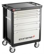 Инструментальная тележка CHRONO+ c 5 ящиками (3 модуля в ящике) Facom
