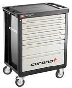 Инструментальная тележка CHRONO+ c 7 ящиками (3 модуля в ящике) Facom