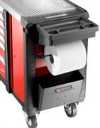 Комплект для уборки XL (Бак для мусора + Магнитная доска с ячейками + Держатель для рулона бумаги) Facom