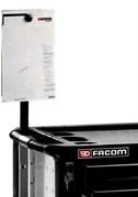 Держатель документов XL серый Facom