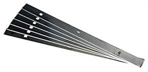 Ножи для рубанка 300 мм RN - PLP 19x1x300 12 шт. Festool