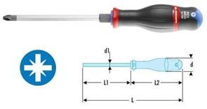 Отвертка PROTWIST® для сильной затяжки под винты с крестовидной головкой Pozidriv® Facom