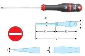 Отвертка PROTWIST® с зоной для удара под винты со шлицем Facom