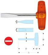 Отвертка ISORYL шлицевая кованная Т-образные Facom