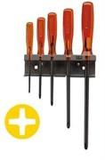 Комплект отверток ISORYL под винты с крестовидной головкой Phillips® Facom