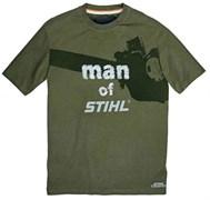 """Футболка """"man of Stihl"""""""