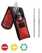 Комплект отверток PROTWIST® со сменными рабочими частями шлицевыми, PH, Torx Facom