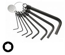 Комплект шестигранных длинных ключей на кольце Facom