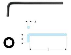Ключ торцовый шестигранный сверхдлинный метрических размеров Facom