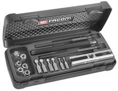 Комплект съемников для демонтажа небольших подшипников Facom