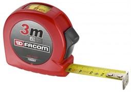 Рулетка измерительная в корпусе ABS – 3-х метровая со смотровым окошком Facom