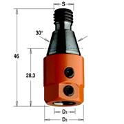 Патрон для сверильно-присадочного станка M10/30° CMT