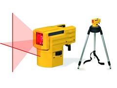 Лазерный нивелир Уровень LAX 50 с треногой Stabila