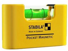 Уровень карманный Pocket Magnetic STABILA