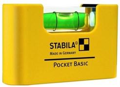 Уровень карманный Pocket Basic STABILA