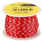 Шнур для каменщика красно-белый 1,7мм х 50м STABILA