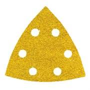 Шлифлист треугольный GOLD 90мм 6 отв BULK Р80-P320