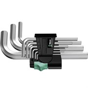 Набор Г-образных ключей 6-гр 950/9 SM N 9шт