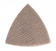 Треуг шлиф мат на сетч основе липучка ABRANET 93мм