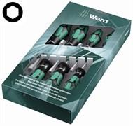 Набор отверток-торцовых ключей 395HO TORX WERA 7шт