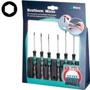 Набор отверток-торцовых ключей Kraftform Micro 6шт