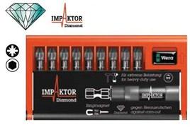 Набор бит 8755-9/IMP DC Impaktor Bit-Check WERA