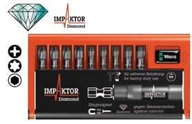 Набор бит 8751/67-9/IMP DC Impaktor Bit-Check WERA