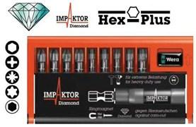 Набор бит 8740/51/55/67-9/IMP DC Impaktor WERA