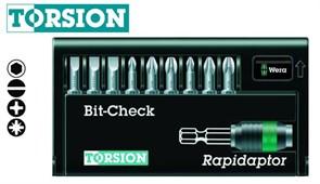 Набор бит 8600-9/TZ Bit-Check – Rapidaptor WERA