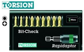 Наборы бит 8655-9/TH Bit-Check – Rapidaptor WERA