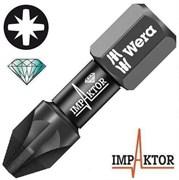 Биты под винты Pozidriv 855/1 IMP DC Impaktor WERA