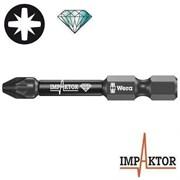 Биты под винты Pozidriv 855/4 IMP DC Impaktor WERA