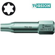 Биты под винты TORX 867/1 TZ WERA