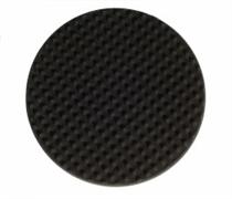 Полировальный диск 150мм черный рельефный 2шт