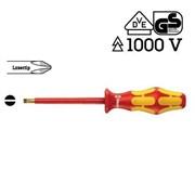 Отвертка шлицевая 4,0мм 1000V 160 i VDE WERA