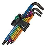 Набор Г-образных ключей 6-гр 950 PKLS/9 SM SB 9шт