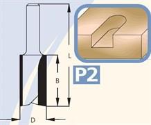 Фреза полуштап цилиндрическая хвостовик 8мм DIMAR