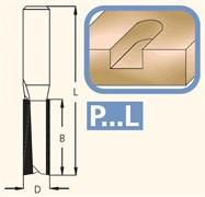 Фреза пазовая левого вращения хвостовик 12мм DIMAR