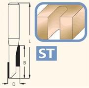 Фреза концевая цилиндрическая хвостовик 12мм DIMAR
