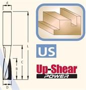 Фреза Up-Shear 2 кромки хвостовик 12-16-20мм DIMAR