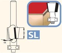 Фреза обгонная для снятия фасок 8° S=6мм DIMAR