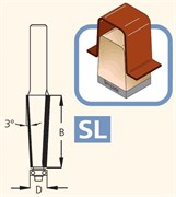 Фреза обгонная для снятия фасок 3° S=12 DIMAR