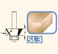 Фреза для снятия фасок 7-45° хвостовик 6мм DIMAR