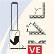 Фреза для гибки облицовочных плит хвост 6мм DIMAR