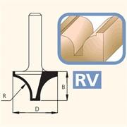 Фреза врезная профильная хвостовик 8мм DIMAR